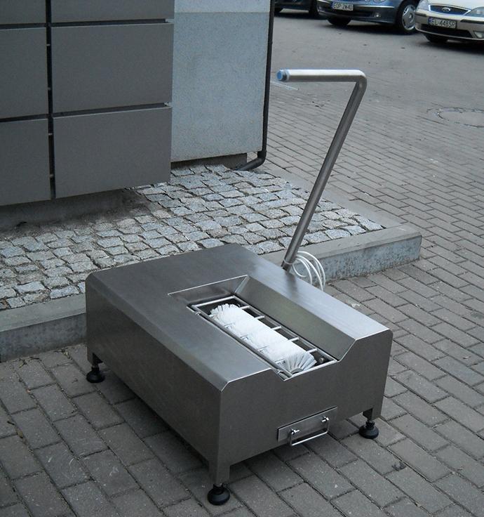 SoleMat - 🥇PUCYBUT urządzenia maszyny automaty do czyszczenia obuwia butów podeszw