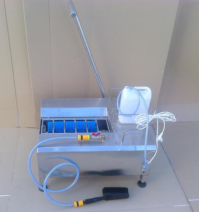 Aquarius - 🥇PUCYBUT urządzenia maszyny automaty do czyszczenia obuwia butów podeszw