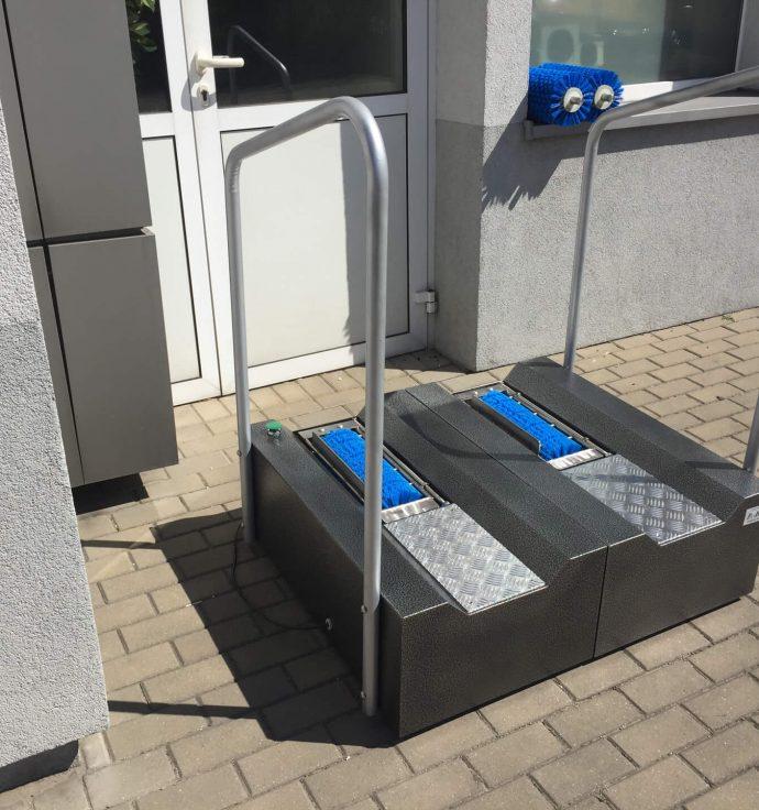 DuoMat - 🥇PUCYBUT urządzenia maszyny automaty do czyszczenia obuwia butów podeszw